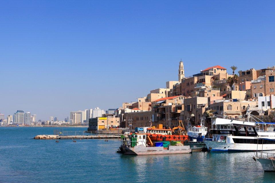 Tel Aviv a přístav Jaffa